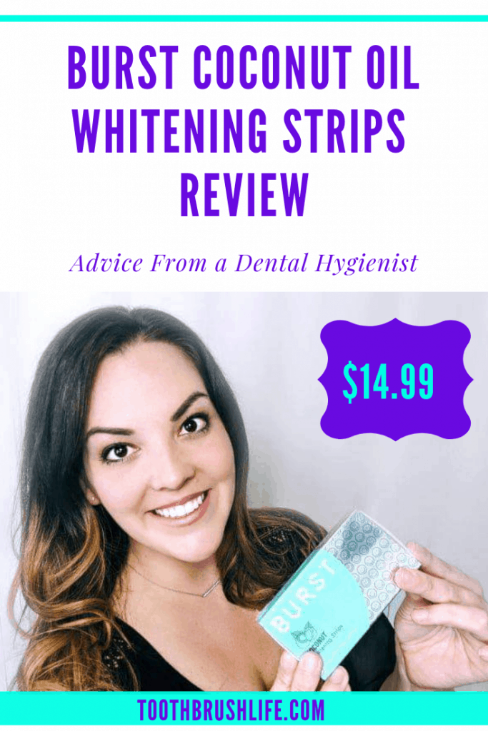 burst whitening strips