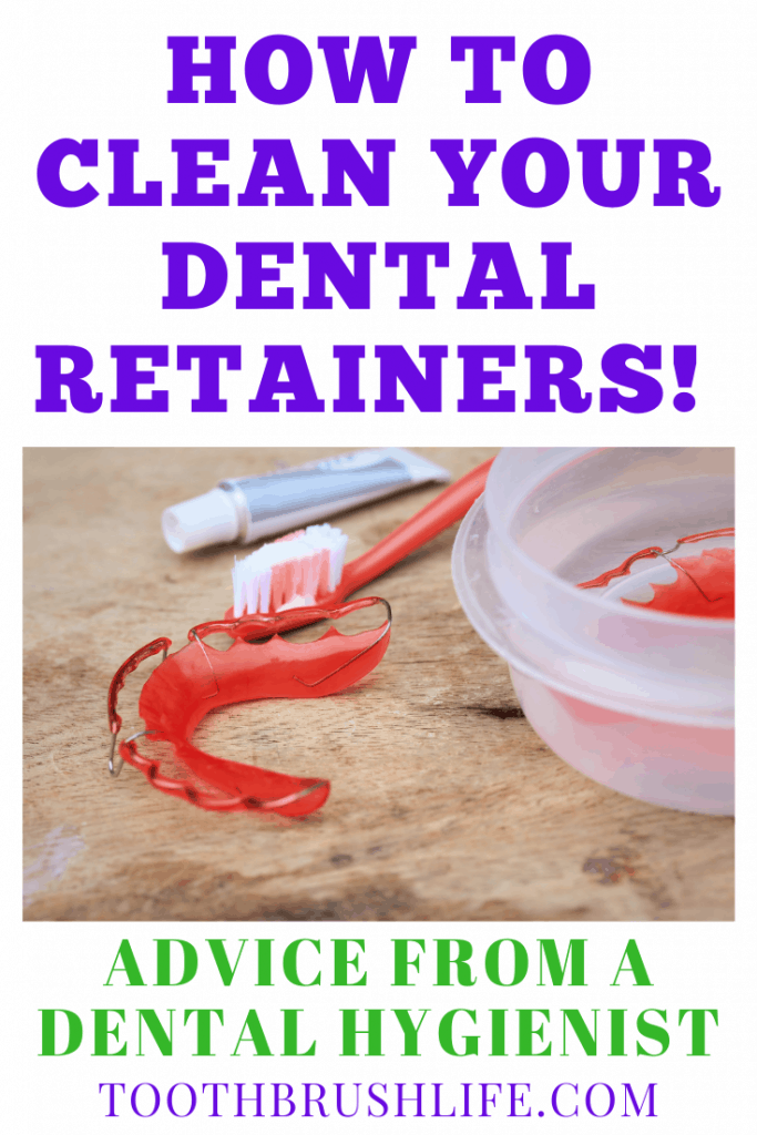 how to clean retainers and how to clean aligners
