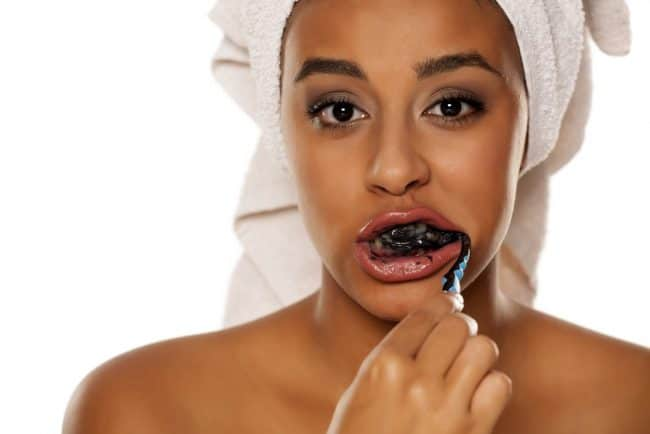 is charcoal toothpaste safe?