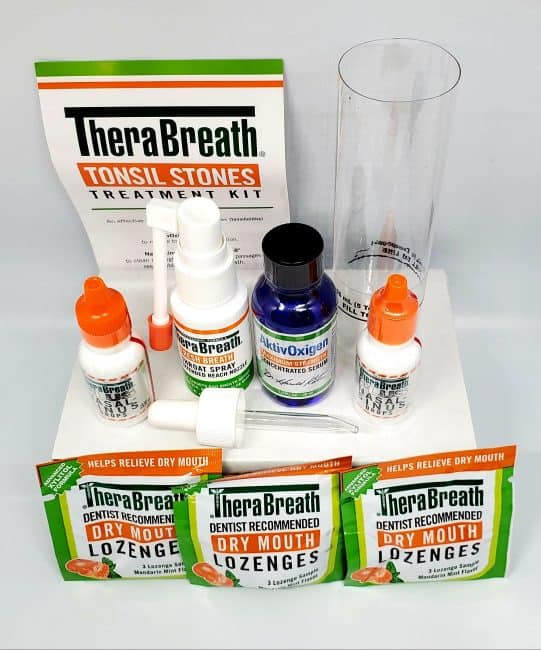Therabreath tonsil stone kit review