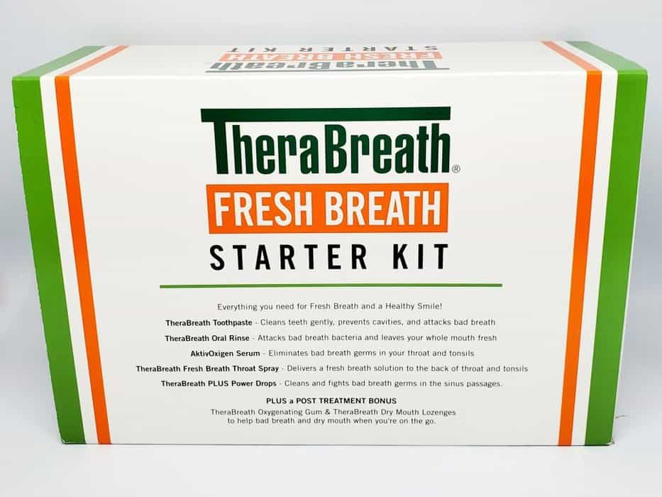 therabreath fresh breath starter kit review