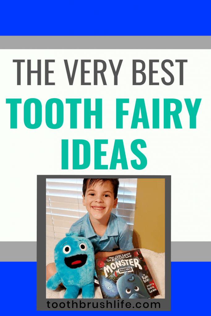 ideas to bring a smile to your child's face. Gold coins, tooth fairy pillows, tooth fairy books and more. Losing teeth is such a special time, it should be celebrated! #toothbrushlife #toothfairy #losingteeth #growingup #tooth #fairy