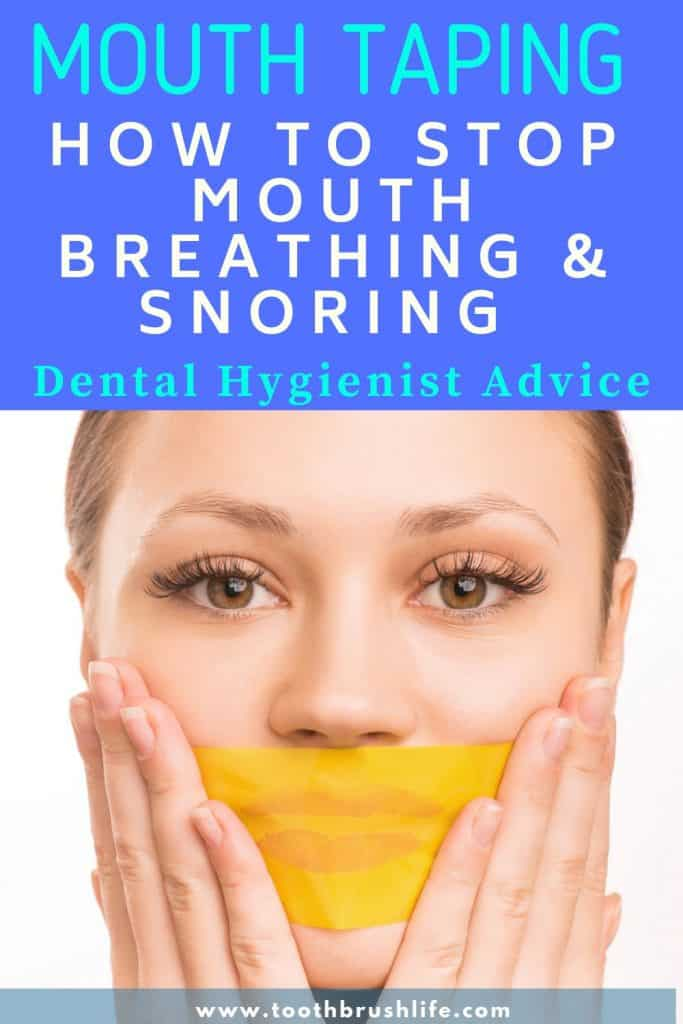 Guide to Mouth Taping: Stop Snoring, Stop Mouth Breathing