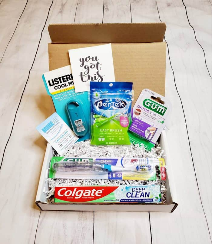 braces care gift box